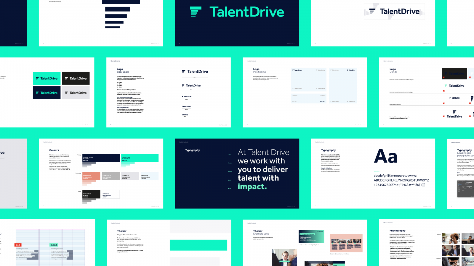 Talent Drive brand guidelines
