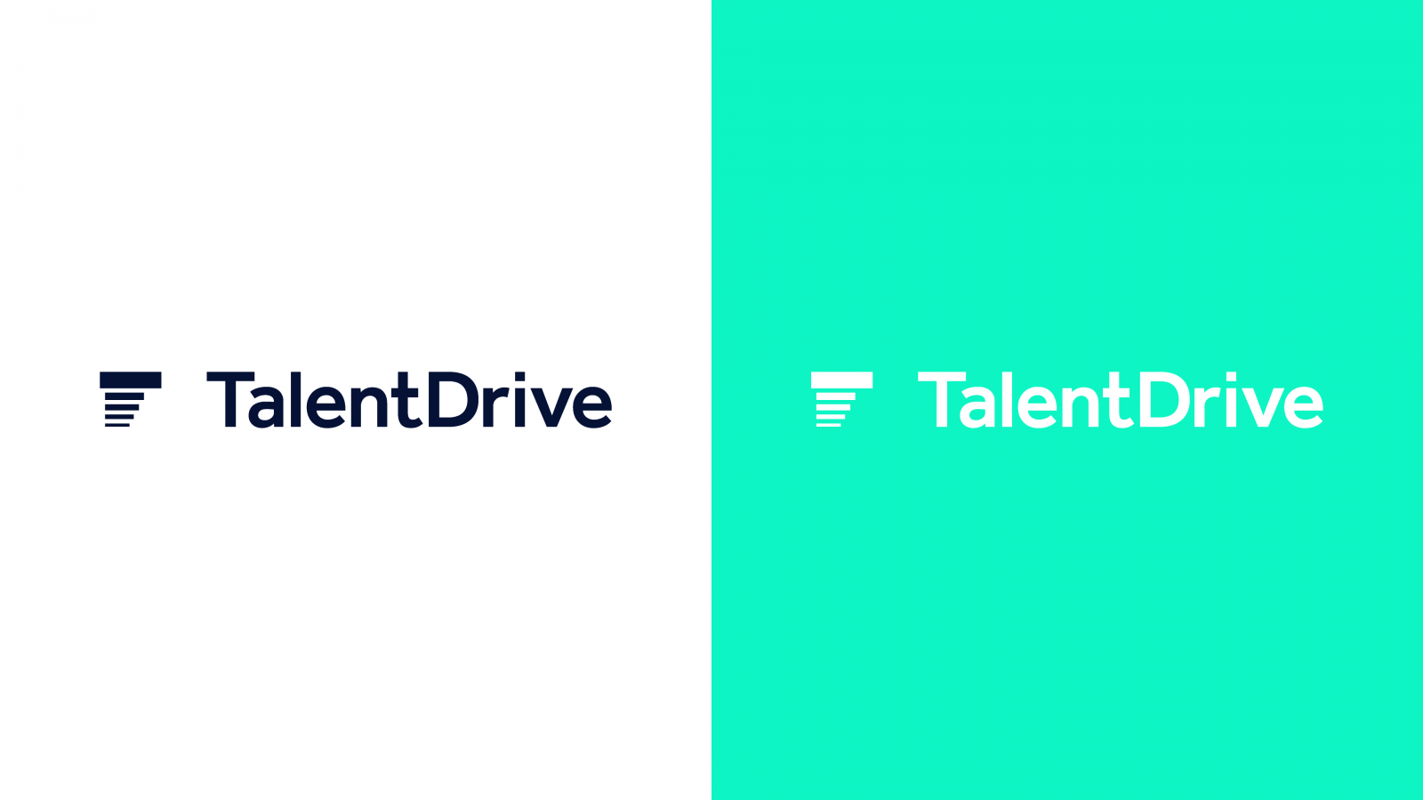 Bold branding for Talent Drive